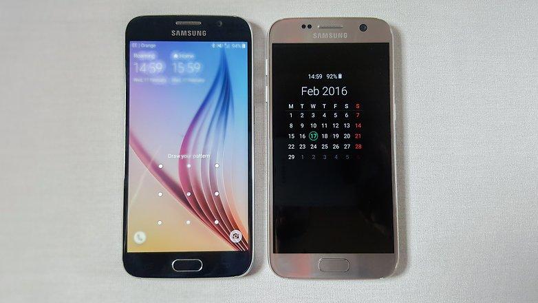 Ecran Galaxy S7 VS Galaxy S6