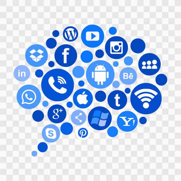 La communication sur les re´seaux sociaux.