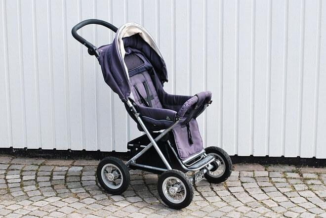 Poussette de running pour bébé