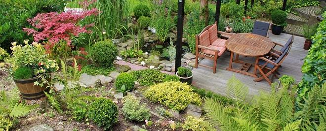 bordure métallique pour jardin
