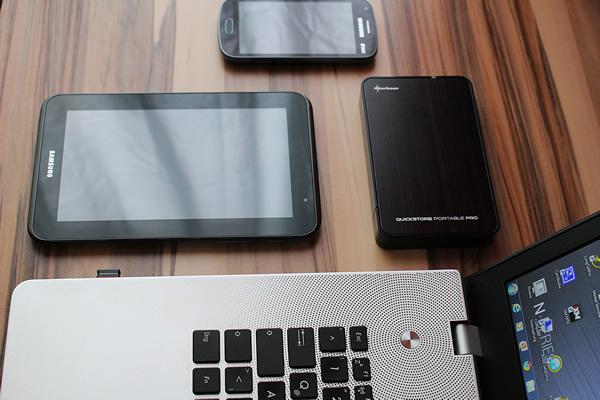 Laptop, smartphone et tablette