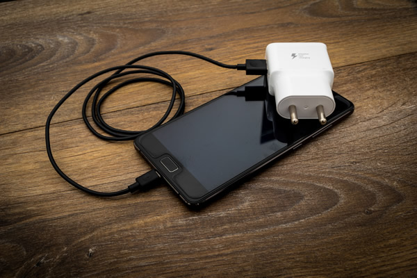 Chargeur pour smartphone