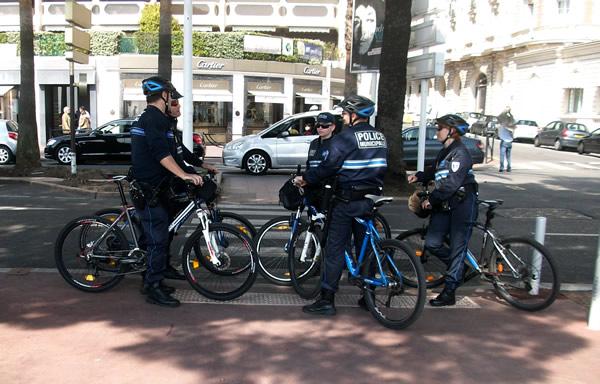 Cyclistes de la Police municipale