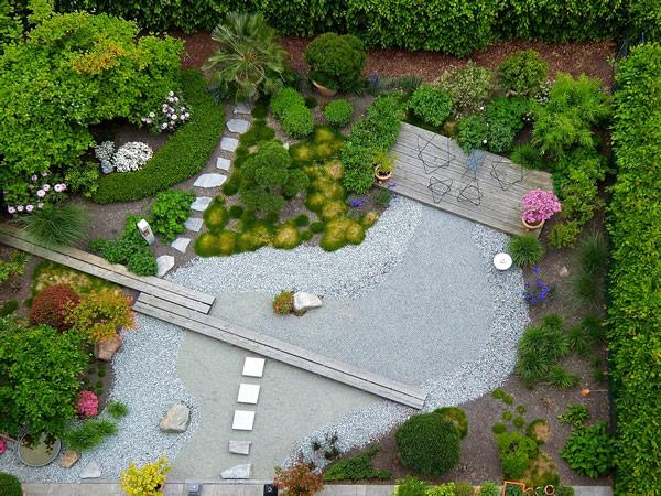 Travaux de terrassement du jardin