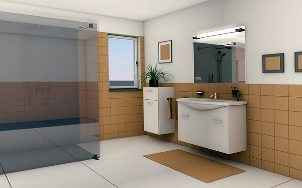 Salle de bain pour sénior